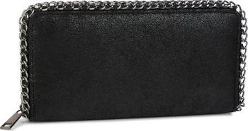 styleBREAKER weiche Vintage Geldbörse mit umlaufender Kette und Reißverschluss, Portemonnaie, Damen 02040061 – Bild 3