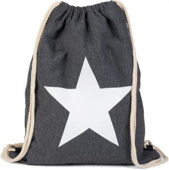 styleBREAKER gym bag rucksack with star print, sports back, bag, unisex 02012088 – Bild 1