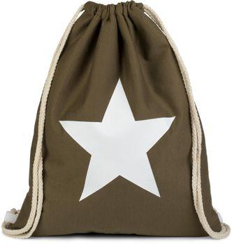 styleBREAKER gym bag rucksack with star print, sports back, bag, unisex 02012088 – Bild 13