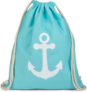 styleBREAKER gym bag rucksack with anchor print, sports bag, unisex 02012089 – Bild 9