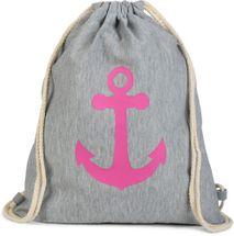 styleBREAKER gym bag rucksack with anchor print, sports bag, unisex 02012089 – Bild 13