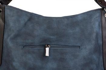 styleBREAKER Schultertasche mit seitlicher Schlangen Optik, Shopper, Umhängetasche, Beuteltasche, Damen 02012097 – Bild 15