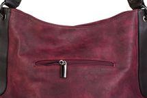 styleBREAKER Schultertasche mit seitlicher Schlangen Optik, Shopper, Umhängetasche, Beuteltasche, Damen 02012097 – Bild 12