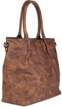 styleBREAKER Vintage Shopper Tasche mit All Over Nieten in Stern Form, Schultertasche, Umhängetasche, Handtasche, Damen 02012099 – Bild 15