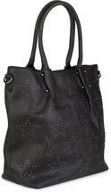 styleBREAKER Vintage Shopper Tasche mit All Over Nieten in Stern Form, Schultertasche, Umhängetasche, Handtasche, Damen 02012099 – Bild 18