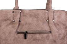 styleBREAKER Vintage Shopper Tasche mit All Over Nieten in Stern Form, Schultertasche, Umhängetasche, Handtasche, Damen 02012099 – Bild 23