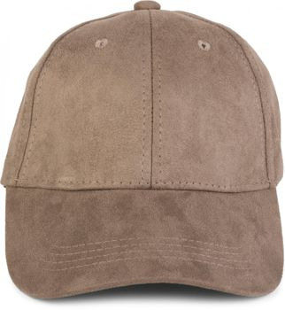 Unisex Baseball Cap 6-Panel Cap in Veloursleder Wildleder Optik verstellbar