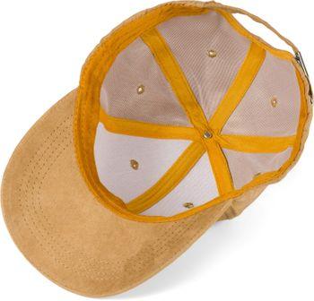 styleBREAKER 6-Panel Cap in Veloursleder Optik, Wildleder Optik, Baseball Cap, verstellbar, Unisex 04023049