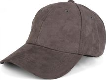 styleBREAKER 6-Panel Cap in Veloursleder, Wildleder Optik, Baseball Cap, verstellbar, Unisex 04023049 – Bild 1