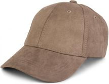 styleBREAKER 6-Panel Cap in Veloursleder, Wildleder Optik, Baseball Cap, verstellbar, Unisex 04023049 – Bild 3