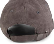 styleBREAKER 6-Panel Cap in Veloursleder, Wildleder Optik, Baseball Cap, verstellbar, Unisex 04023049 – Bild 11