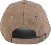 styleBREAKER 6-Panel Cap in Veloursleder, Wildleder Optik, Baseball Cap, verstellbar, Unisex 04023049 – Bild 13
