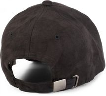 styleBREAKER 6-Panel Cap in Veloursleder, Wildleder Optik, Baseball Cap, verstellbar, Unisex 04023049 – Bild 12