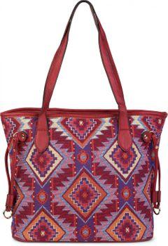 styleBREAKER Ethno Schultertasche im Boho Style, Henkeltasche, Handtasche, Tasche, Damen 02012101 – Bild 3