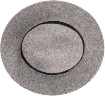 styleBREAKER creased fedora with felt look with decorative band, Bogart, cowboy hat, unisex 04025015 – Bild 7