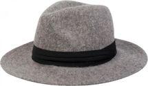 styleBREAKER Fedora Knautschhut in Filz-Optik mit Zierband, Bogart, Cowboy Hut, Unisex 04025015 – Bild 2