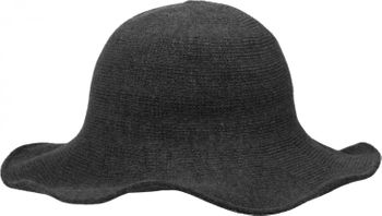 styleBREAKER creased knit-look fedora, knitted hat, hat, women 04025016 – Bild 8