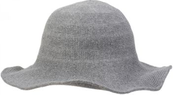 styleBREAKER creased knit-look fedora, knitted hat, hat, women 04025016 – Bild 9