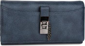 styleBREAKER Geldbörse mit Kette und Metallriegel, Druckknopf Verschluss, Portemonnaie, Damen 02040065 – Bild 5