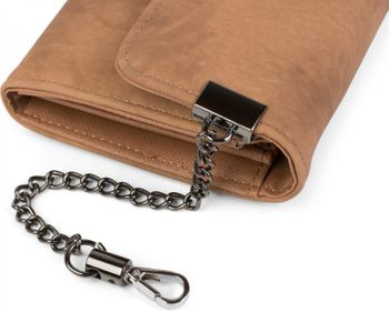 styleBREAKER soft wallet with ring and chain with lobster clasp, snap fastener, wallet, women 02040066 – Bild 14