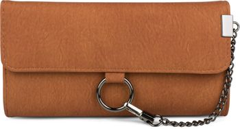 styleBREAKER soft wallet with ring and chain with lobster clasp, snap fastener, wallet, women 02040066 – Bild 5