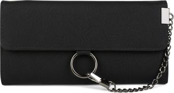 styleBREAKER soft wallet with ring and chain with lobster clasp, snap fastener, wallet, women 02040066 – Bild 2