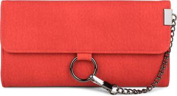 styleBREAKER weiche Geldbörse mit Ring und Kette mit Karabinerhaken, Druckknopf Verschluss, Portemonnaie, Damen 02040066 – Bild 6