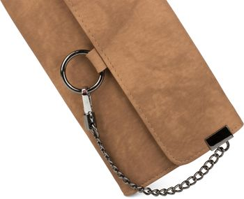 styleBREAKER soft wallet with ring and chain with lobster clasp, snap fastener, wallet, women 02040066 – Bild 7