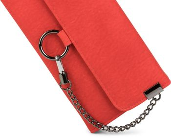 styleBREAKER soft wallet with ring and chain with lobster clasp, snap fastener, wallet, women 02040066 – Bild 12