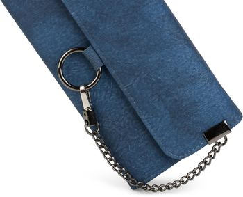 styleBREAKER soft wallet with ring and chain with lobster clasp, snap fastener, wallet, women 02040066 – Bild 9