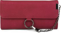 styleBREAKER soft wallet with ring and chain with lobster clasp, snap fastener, wallet, women 02040066 – Bild 4