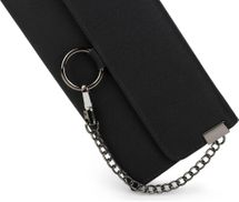 styleBREAKER soft wallet with ring and chain with lobster clasp, snap fastener, wallet, women 02040066 – Bild 8