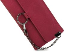 styleBREAKER soft wallet with ring and chain with lobster clasp, snap fastener, wallet, women 02040066 – Bild 10