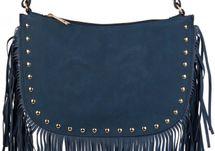 styleBREAKER Umhängetasche mit Fransen und goldenen Schmuck-Nieten, Schultertasche, Tasche, Damen 02012109 – Bild 11