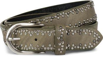 styleBREAKER Nietengürtel mit verschiedenfarbigen kleinen Nieten, Gürtel, kürzbar, Unisex 03010071 – Bild 15