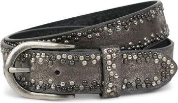 styleBREAKER Nietengürtel mit verschiedenfarbigen kleinen Nieten, Gürtel, kürzbar, Unisex 03010071 – Bild 18