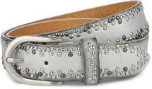 styleBREAKER Nietengürtel mit verschiedenfarbigen kleinen Nieten, Gürtel, kürzbar, Unisex 03010071 – Bild 16