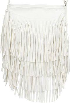 styleBREAKER Umhängetasche mit langen Fransen im coolen Ethno Style, Schultertasche, Tasche, Damen 02012113 – Bild 23