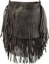 styleBREAKER Umhängetasche mit langen Fransen im coolen Ethno Style, Schultertasche, Tasche, Damen 02012113 – Bild 20