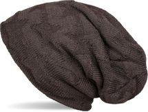 styleBREAKER Feinstrick Beanie Mütze mit Stern Strick Muster und weichem Fleece Innenfutter, Unisex 04024089 – Bild 5