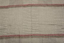 styleBREAKER breiter XXL Schal mit Fischgrät Karo Muster, Zierstreifen und Fransen, Strickschal, Unisex 01017027 – Bild 10