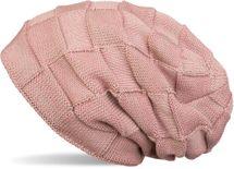 styleBREAKER warme Feinstrick Checked Beanie Mütze mit Flecht Muster und sehr weichem Fleece Innenfutter, Unisex 04024090 – Bild 2