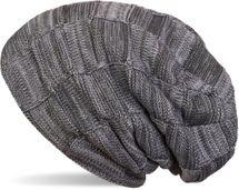 styleBREAKER warme Feinstrick Checked Beanie Mütze mit Flecht Muster und sehr weichem Fleece Innenfutter, Unisex 04024090 – Bild 3