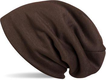 styleBREAKER warme Feinstrick Beanie Mütze mit sehr weichem Fleece Innenfutter, Longbeanie unifarben, Unisex 04024092 – Bild 5