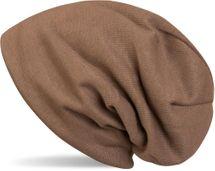 styleBREAKER warme Feinstrick Beanie Mütze mit sehr weichem Fleece Innenfutter, Longbeanie unifarben, Unisex 04024092 – Bild 4