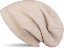 styleBREAKER warme Feinstrick Beanie Mütze mit sehr weichem Fleece Innenfutter, Longbeanie unifarben, Unisex 04024092 – Bild 6