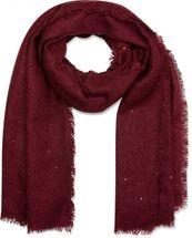styleBREAKER grob gewebter XL Schal mit Pailletten besetzt und umlaufenden Fransen, Glitzerschal, Damen 01017028 – Bild 6