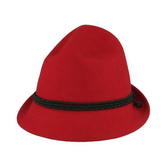 Hut-Breiter roter Kindertrachtenhut