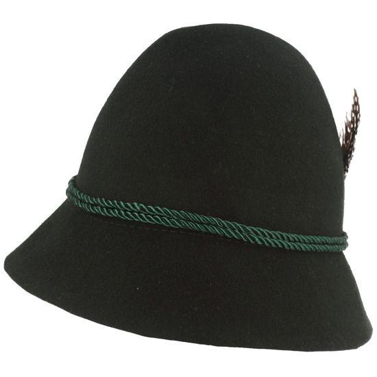 Hut-Breiter Kinder Trachtenhut mit Feder