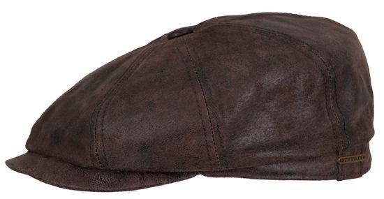 Stetson Schiebermütze Hatteras aus Leder
